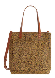 Madewell Leopard Genuine Calf Hair Medium Transport Tote