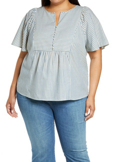 Madewell Monarch Vintage Stripe Top (Plus Size)