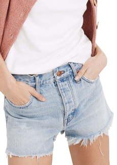Madewell Relaxed Denim Shorts (Cedarcroft Wash)