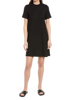 Madewell Ribbed Mock Neck T-Shirt Dress
