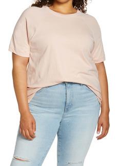 Madewell Softfade Raglan Cotton T-Shirt (Plus Size)