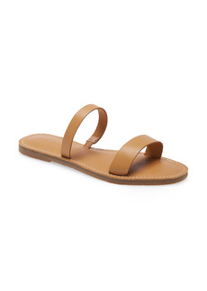 Madewell The Boardwalk Double-Strap Slide Sandal (Women)