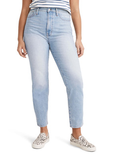 Madewell The Curvy Perfect High Waist Tapered Jeans (Fiore Wash)