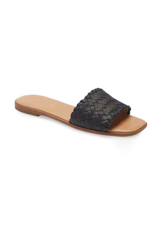 Madewell The Lianne Woven Slide Sandal (Women)