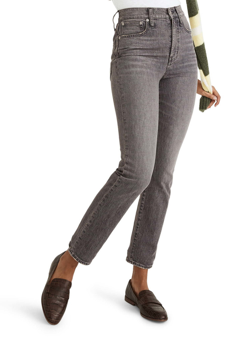 Madewell The Perfect Vintage Ankle Jeans (Dennison Wash)