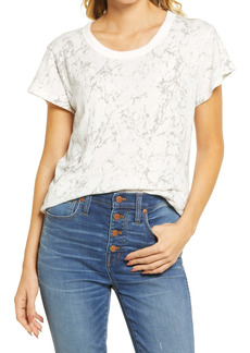 Madewell The Perfect Vintage Marble Print T-Shirt