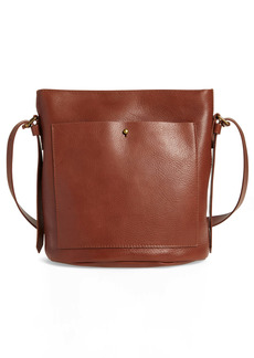Madewell The Transport Leather Bucket Bag
