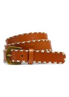 Madewell Whipstitch Leather Belt