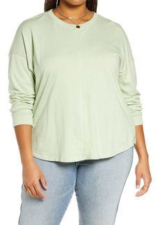 Madewell Women's (Re)sourced Cotton Newville T-Shirt (Plus Size)