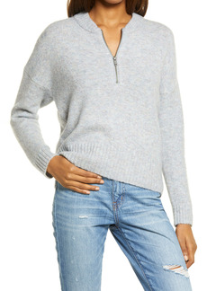 Madewell York Half Zip Women's Pullover Sweater