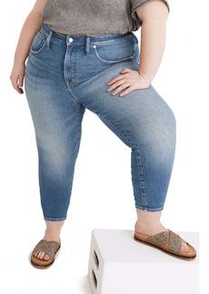 Madewelll High Waist Crop Skinny Jeans (Sheffield Wash) (Plus Size)