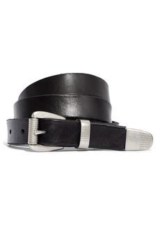Women's Madewell Leather Three-Piece Belt
