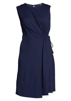 Maggy London Draped Sleeveless Dress (Plus Size)