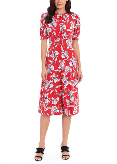Maggy London Matte Jersey Midi Dress