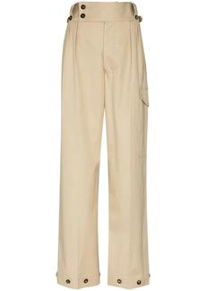 Maison Margiela decorative-button tailored trousers