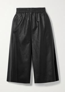 Maison Margiela Faux Leather Shorts
