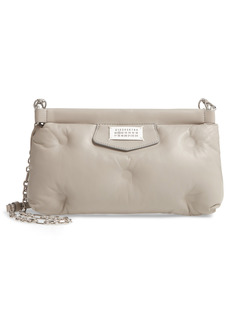 Maison Margiela Glam Slam Quilted Leather Clutch - Grey