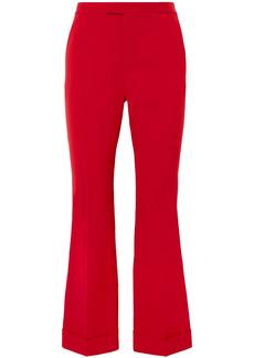 Maison Margiela Woman Cady Flared Pants Red