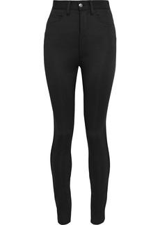 Maison Margiela Woman Neoprene Skinny Pants Black