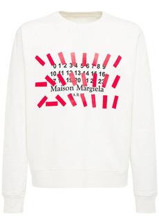 Maison Margiela Printed Crewneck Sweatshirt