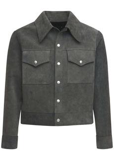 Maison Margiela Reversible Suede & Leather Jacket
