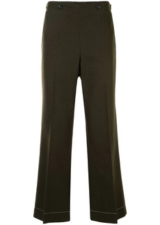 Maison Margiela twill cropped trousers