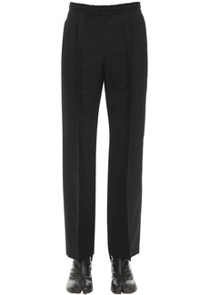 Maison Margiela Two Ply Wool Poplin Track Suit Pants