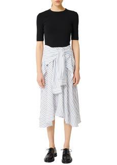 Women's Maje Combo Shirt Dress