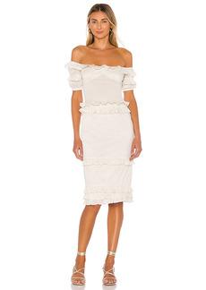 MAJORELLE Ollie Midi Dress