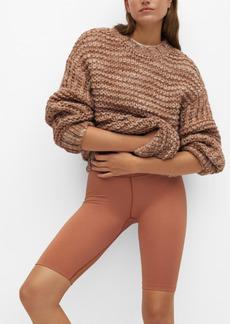 Mango Women's Open Chunky-Knit Sweater