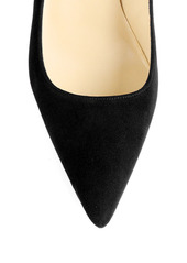Manolo Blahnik BB 50 Suede Pumps