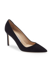 Manolo Blahnik BB Pointed Toe Pump (Women)
