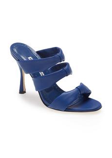 Manolo Blahnik Gyrica Slide Sandal (Women)