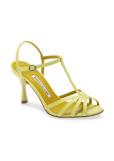 Manolo Blahnik Marana T-Strap Sandal (Women)