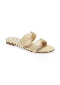 Manolo Blahnik Pallera Slide Sandal (Women)