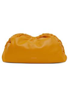 Mansur Gavriel Cloud Lambskin Clutch - Orange