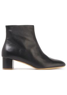 Mansur Gavriel Woman Leather Ankle Boots Black