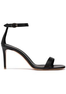 Mansur Gavriel Woman Leather Sandals Black