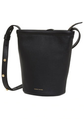 Mansur Gavriel Mini Leather Zip Bucket Bag