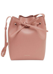 Mansur Gavriel Mini Saffiano Bucket Bag