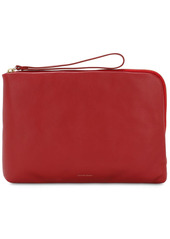 Mansur Gavriel Pillow Leather Pouch