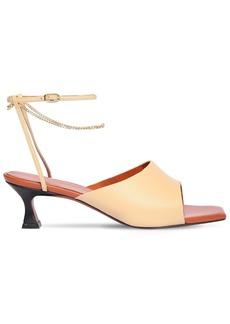 MANU Atelier 50mm Athena Leather Sandals
