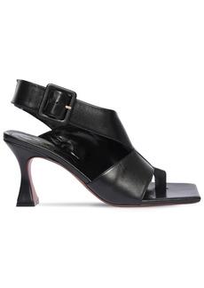 MANU Atelier 80mm Rey Leather Thong Sandal