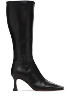 MANU Atelier 80mm Xx Duck Leather Tall Boots