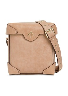 MANU Atelier Mini Pristine Leather Shoulder Bag