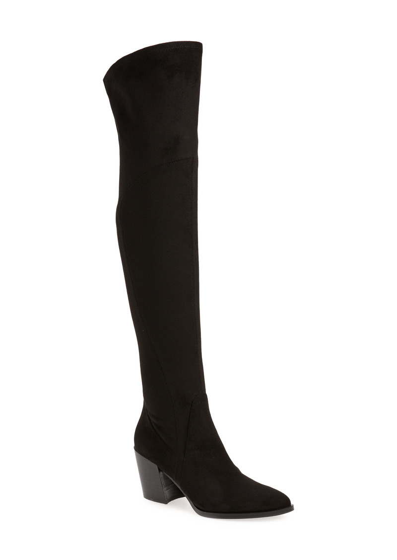 Marc Fisher LTD. Cathi Pointed Toe Over the Knee Boot (Women) (Narrow Calf)