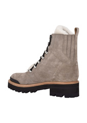 Marc Fisher LTD Izzie Genuine Shearling Lace-Up Boot (Women)
