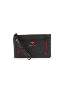 Marc Jacobs Empire City Valentine Leather Wristlet