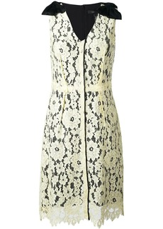 Marc Jacobs floral lace midi dress