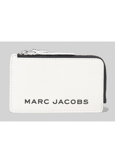 Marc Jacobs Small Top Zip Leather Wallet